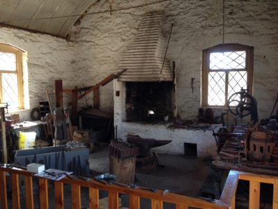 Burra forge working area