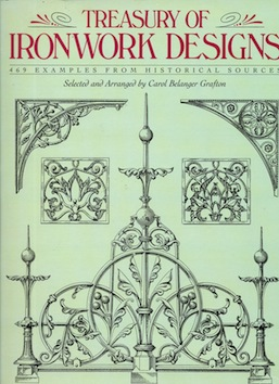 Treasury of IRONWORK DESIGNS Image