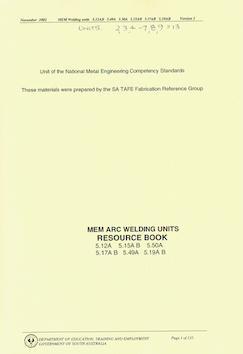 MEM ARC Welding Image