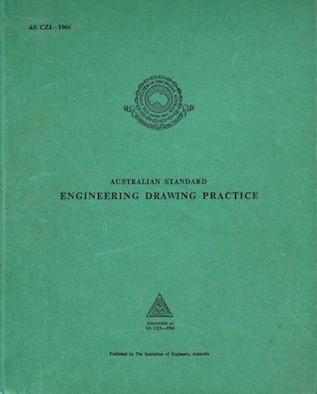Australian Standard Engineering Drawing Practice Image