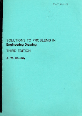 Solutions to problems in Engineering Drawings Image
