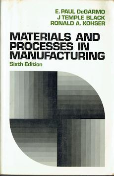 Materials and Processes in Manufacturing Image